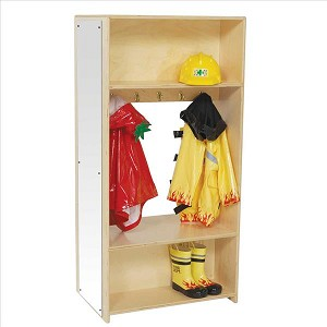 "Dress-Up Locker with Mirror | 49""h x 24""w x 15""d"
