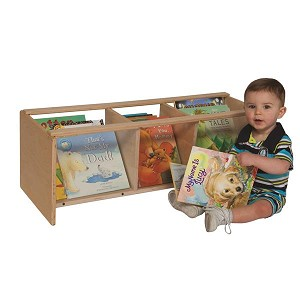 "See-All Toddler Book Browser | 16""h x 36""w x 13-1/2""d"