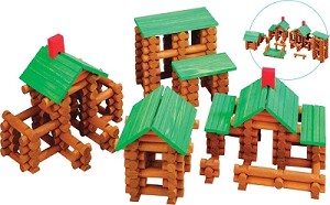 Old Fashioned Tumbletree Timbers Building Set