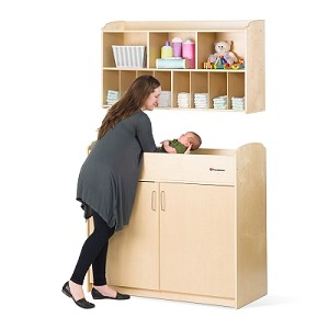 Next Gen Serenity Changing Set - Changing Table with Diaper Organizer