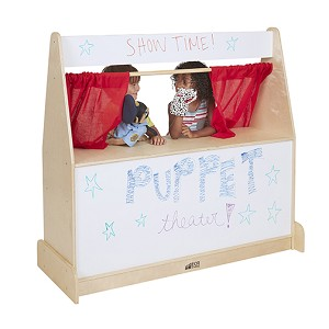 Puppet Theater with Dry Erase Board