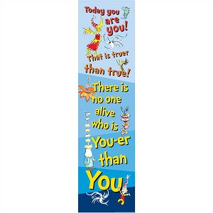 Dr. Seuss Motivational - Vertical Banner