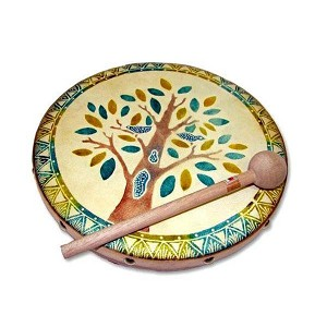 Blooming Tree Rebana Hand Frame Drum