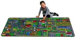 Giant Road Play Carpet, 36''w x 79''l
