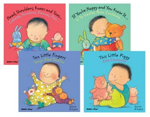 Child's Play English and Spanish Language - Baby Board Book Set