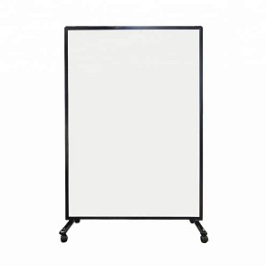 """I See You"" Mobile Social Distancing Panel w/Clear Unbreakable Polycarbonate Surface - Sale Priced As Low as $299.99 in Bulk"
