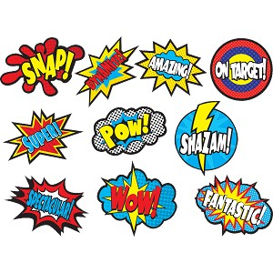 Superheros Sayings - Accents
