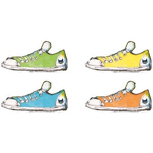 Pete the Cat Groovy Shoes - Accents