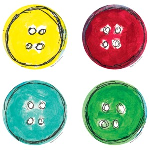 Pete the Cat Groovy Buttons - Accents