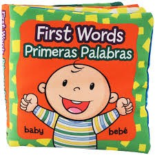 Baby's First Words Bilingual Cloth Books