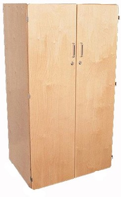 Mainstream Birch Teacher's Cabinet with Kickplate