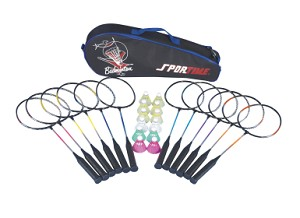 Complete School Badminton Set - 25 Pieces