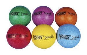 Volley SuperSkin-2 Special Medium/Low Bounce Foam Balls - Set of 6