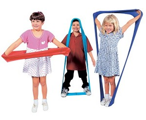 ShapeShifter Stretch Bands with Activity Guide - Set of 6