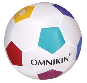 "OMNIKIN 14"" Giant Sized Soccer Ball with Latex Bladder"