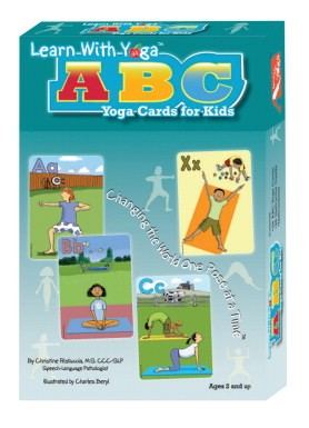 Say it Right Learn with Yoga ABC Yoga Card for Kids