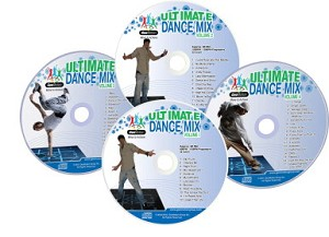 GeoMotion Ultimate Dance Mix CDs - Set of 4