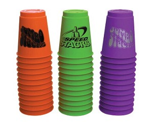 "Speed Stacks 9"" Diameter Jumbo Stacks - Set of 36"
